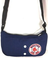 Red Sox Small Blue Fabric Shoulder Bag Spell Out Red Sox Genuine Merchandise NWT