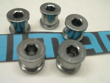 Shimano Dura Ace FC-7800 NEW Alloy Chainring Bolts- Set of Ten- Under 10 Gms.