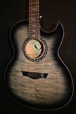 Dean Exhibition Ultra FM Thin Body Acoustic Electric Guitar - Free Shipping!