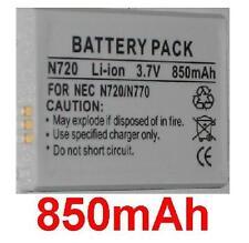Batería 850mAh tipo MAS-BD0025 Para NEC E242, N770, N720, N401i, N840