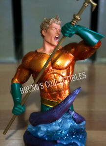 Aquaman Bust DC Direct Statue Heroes of the DC Universe by Carlos Pacheco