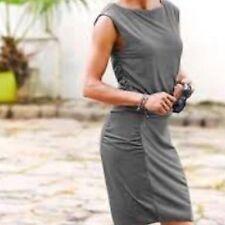 ATHLETA Micro Stripe Westwood Dress, NWOT, Medium, Black/White, So Cute!