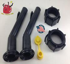 2 -Blitz Gas Can Spouts Rings FREE Vent Replacement Vintage 900092 900302 - NEW!