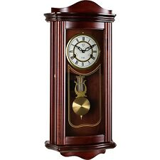 Horloge De Pendule Horloge Murale Montre Pendule Regulator Prométhée Acajou