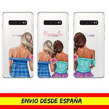 Funda Movil Cases Samsung / Amigas Friends Love Moda Dibujo Transparente Case
