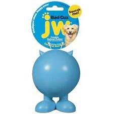 JW Bad Cuz Durable Rubber Squeaky Dog Toy - Serious Squeaker ! Medium