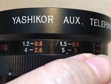 Yashikor Aux Lens Telephoto 1:4
