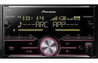 Pioneer MVH-X690BS RB Double DIN MP3/WMA Digital Media Player Bluetooth MIXTRAX
