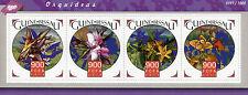 Guinea-Bissau 2015 MNH Orchids 4v M/S Flowers Flora Stamps
