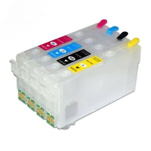 822XL T812XL Refillable Ink Cartridge With Chip Compatible For WF-7830 Printers