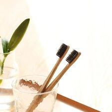 Environmental Bamboo Wood Soft Toothbrush Medium Bristle Brush Oral Clean Care