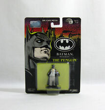 NEW 1991 ERTL DC Comics ✧ THE PENGUIN ✧ Vintage Batman Returns Die-cast MOC