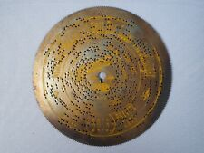 German Antique Symphonion Music Box Disc 5066 Mariana Walzer By Bellinger