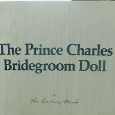 Danbury Mint~PRINCE CHARLES BRIDEGROOM~Royal Wedding Porcelain Collectors Doll