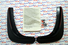 GENUINE Vauxhall ASTRA J GTC FRONT MUDFLAPS / SPLASH GUARDS KIT - NEW - 13354458