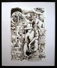 SIDNEY, SKETCH, GRAFFITI, SPRAY, BANKSY, PRO176, JONONE, 156, SEEN, IZ, OBEY