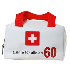 1.Hilfe Tasche 60.Geburtstag Geschenk Tasche Tüte Verpackung Scherzartikel