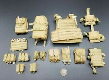 1:6 Soldier Story US Army 10th SFG Special Forces Coyote Tan Vest & Pouches Set