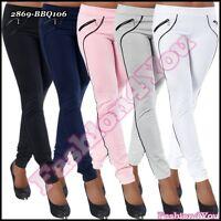 Ladies Trousers Women's Jogging Bottoms Casual Pants Treggings Size 8,10,12,14