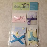Daisy Hill  Dimensional Pockets ENVELOPES BABY SHOWER POCKETS DAISYHILL NEW 3D