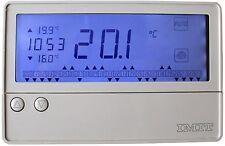 CRONOTERMOSTATO DIGITALE IMIT DUO SCREEN SCHERMO LCD RETROILLUMINATO GRANDE