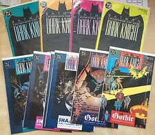 DC Batman Legends of Dark Knight 10 Comic Lot Variant (4) Color Covers RARE #1-7
