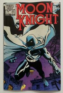 Moon Knight #32 (Marvel 1983) FN condition Bronze Age issue.