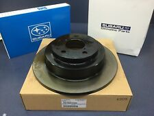 Genuine OEM Subaru Rear Brake Rotor WRX Forester Impreza 1993-2008 26700FE080