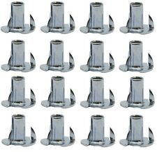 "Sofa/Chair Leg 5/16"" Screw/Bolt Thread Furniture T-Nuts - Set of 12"