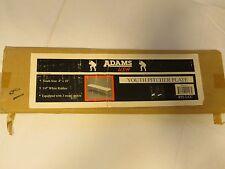 Adams USA Youth Pitcher plate 3/4 rubber 3 metal spikes NOS 495-LLC 4X18 basebal