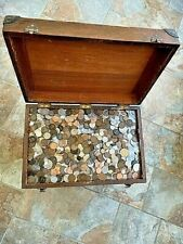 More details for 1.5kg 200+ old coins british pre-decimal and world collection unsorted 1800's ++