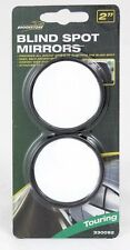 2x Convex Blind Spot Mirrors Wide Angle Safety Wing Rear View Adhesive car van