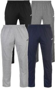 ✅SLAZENGER Jersey Herren lange Jogging Hose Trainings Sport Fitness Chill Schlaf