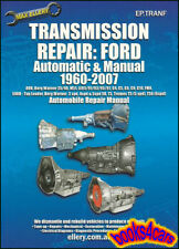 FORD TRANSMISSION MANUAL SHOP SERVICE REPAIR BOOK AUTOMATIC LINCOLN MERCURY