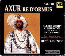 Salieri: axur re d 'Ormus Eva Mei Andrea Martin Curtis Rayam RENE CLEMENCIC 3cd