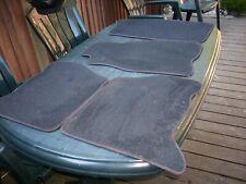 Jeep grand Cherokee ZJ original floor mats dark Gray full set  Good condition