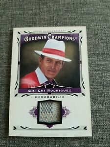 2013 goodwin champions CHI CHI RODRIGUEZ  Game Work Materials Swatch