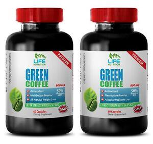 Belly Fat Burn Capsules - Green Coffee Extract GCA 800mg - Green Coffee 2B
