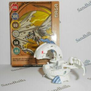 Bakugan Naga White B2 650G & Naga Gate Card