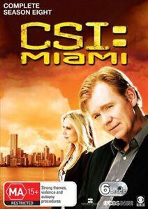 CSI - Miami - Season 8 DVD