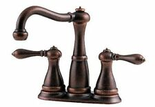 "Pfister Marielle 4"" Center-set Faucet Rustic Bronze GT46-M0BU Lead Free NIB"