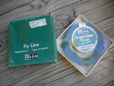 new RARE D.A.M. FLIEGENSCHNUR First Class 409 GBF FISHING FISH FLY LINE Germany