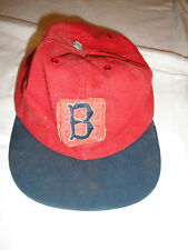 Boston Red Sox Red MLB Baseball Hat Vintage Collectible
