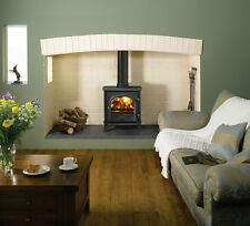 Stockton 7 Woodburner Stove - Flat Top - High Efficiency Stove 7 kW -- SALE --