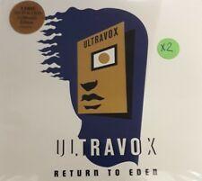 ULTRAVOX- RETURN TO EDEN *CD/DVD 3PZ BRAND NEW STILL SEALED NUOVO SIGILLATO RARO