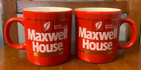 "2 Vintage 1980s Maxwell Coffee House Cup. ""Good to the last Drop."" - Looks New"