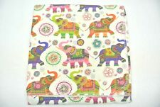 Elephants Trunks Up Baby Blanket Can Be Personalized Xl 42x42