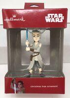 Hallmark Star Wars Rey Jedi Lightsaber Christmas Tree Ornament