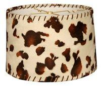 Royal Designs Cowhide Hardback Lamp Shade