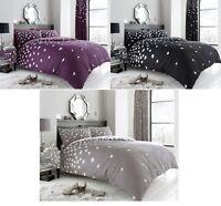 Luxury Be Jewelled Duvet Set 3 PCs Duvet Cover Quilt Cover Set Bed Set Bedding